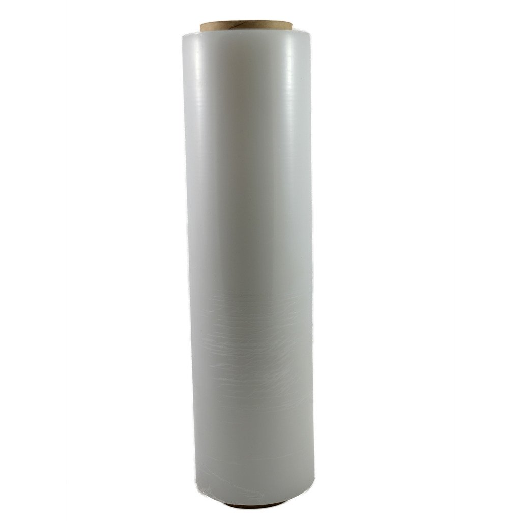 TOTALPACK - 18''x 1500 FT Roll - 80 Gauge Thick + Hybrid technology, 1 Pack. Stretch Moving & Packing Wrap. Industrial Strength, Clear Plastic Pallet Shrink Film Ideal For Furniture, Boxes, Pallets…