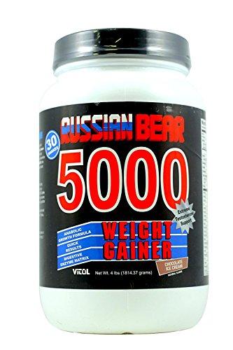 VITOL RUSSIAN BEAR CHOC, 4 LB (Weight Gainer Bear 5000 Russian)
