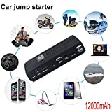 Raking® 400a Peak Current 12000mah Portable Car Jump Starter and Power Bank with LED Flashlight