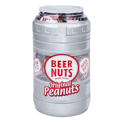 Price comparison product image BEER NUTS Original Peanuts / 48 Count - 1.25 oz. Individual Bags - Sweet and Salty Keg Gift