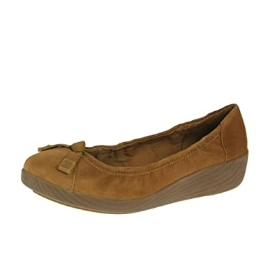 4f986438e52 FitFlop FF2 From Shoes F-Pop Ballerina Suede Tan Brown Size  4 ...