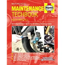 Motorcycle Maintenance Techbook: Servicing and minor repairs for all motorcycles and scooters (Haynes Techbook)