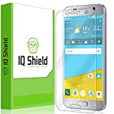 Galaxy S7 Screen Protector, IQ Shield LiQuidSkin Full Coverage Screen Protector for Galaxy S7 HD Clear Anti-Bubble Film - with