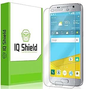 Galaxy S7 Screen Protector, IQ Shield LiQuidSkin Full Coverage Screen Protector for Galaxy S7 HD Clear Anti-Bubble Film - with