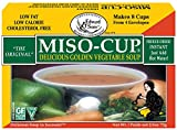 Miso-Cup Original Golden Vegetable Soup, 4-Count Boxes, 2.5 oz (Pack of 12)