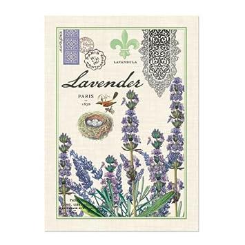 Amazon.com: Michel Design Works Kitchen Towel, Lavender: Home ...