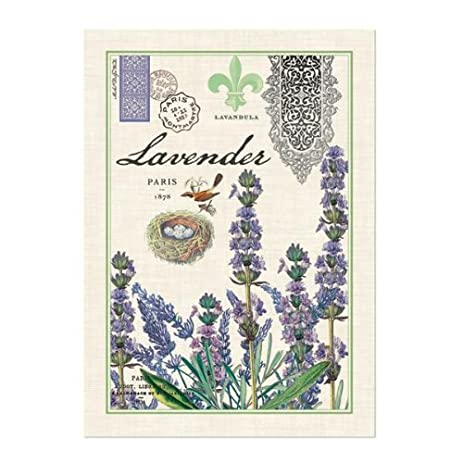 Bon Michel Design Works Kitchen Towel, Lavender
