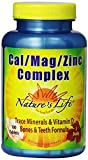 Nature's Life Cal/Mag/Zinc Tablets, 1000/600/15 Mg, 100 Count (Pack of 2) Review