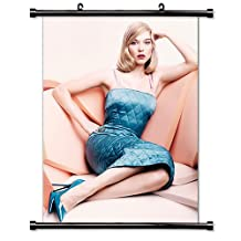 Lea Seydoux Sexy Actress Fabric Wall Scroll Poster (32x43) Inches