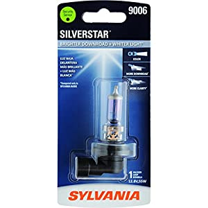 SYLVANIA 9006 SilverStar High Performance Halogen Headlight Bulb, (Contains 1 Bulb)