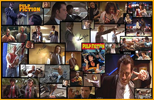 PULP FICTION 1994 !!! Custom Movie Poster 11x17 Buy 2 Poster