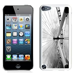 Lovely and Durable Cell Phone Case Design with London iPod Touch 5 Wallpaper 3 in White