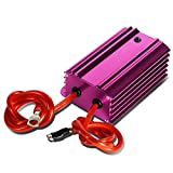 Universal Electric System Car Battery Voltage Stabilizer Regulator w/Cable (Purple)