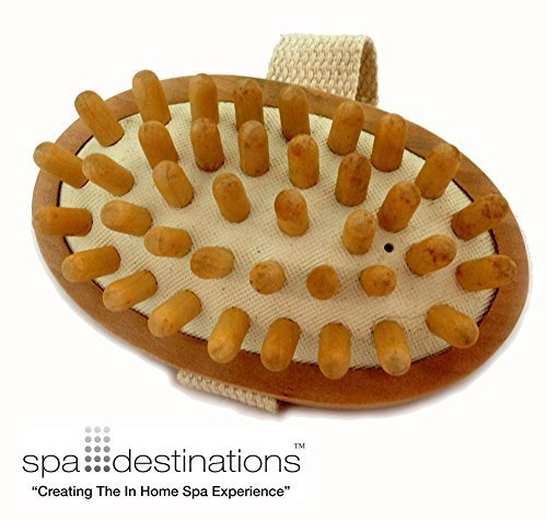 Cellulite Massage & Circulation Brush by Spa DestinationsCreating The At Home Spa Experience