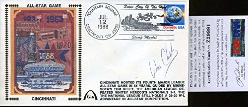 Will Clark Autograph - WILL CLARK SIGNED PSA/DNA CERTIFIED 1988 ALL STAR FDC AUTHENTICATED AUTOGRAPH