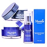Product review for All in One Anti-Aging Treatment with Krasa Anti-Aging Cream - Allumiere Anti-Aging Cream - Niuvella Anti-Aging Serum