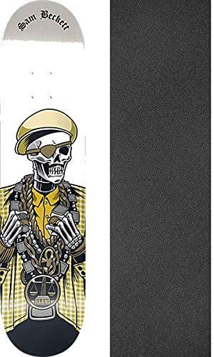 供給八追記ブラインドスケートボードSam Beckett Reaperスケートボードデッキ – 8.5