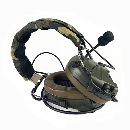 Z TACTICAL Headset Headphone Airsoft Comtac I Style Tactical Headset OD for Military Radio