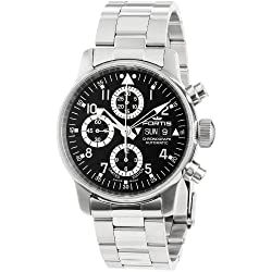"""Fortis Men's 597.20.71 M"""" Flieger"""" Stainless Steel Automatic Watch"""