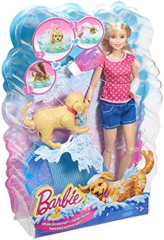 Barbie Dgy83 Son Chien Heure Du Bain Jeux Et Jouets Poupées