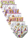 Disney Little Girls  7 Pack Tangled Underwear