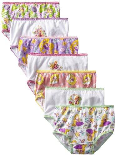 Disney Little Girls Tangled Underwear