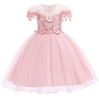 3254b6d572bb Hoxekle Embroidered Formal Princess Dress for Girl Elegant Birthday Party  Girl Dress Baby Girl Christmas Clothes