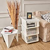 Stackable Storage Bins with