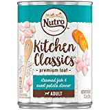 DISCONTINUED: NUTRO Adult KITCHEN CLASSICS Steamed Fish & Sweet Potato Dinner Premium Loaf Canned Dog Food 12.5 Ounces (Pack of 12)