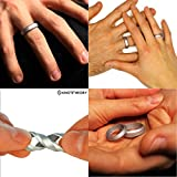 Knot-Theory-Silicone-Wedding-Ring-for-Men-and-Women-in-Silver-Gold-Grey-Blue-Non-bulky-Band-by-Award-winning-Designer-Best-Quality-Style-Safety-Comfort-Ideal-for-Travel-Work-Exercises