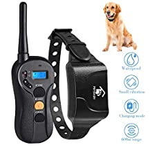 Petame Dog Training Collar with Remote, Dog Shock Collar with 3 Training Modes, Shock, Vibration, Tone, Up to 1000 ft Remote Range, 100% Waterproof Training Collar for Small Medium Large Dogs