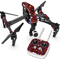 Skin For DJI Inspire 1 Quadcopter Drone – Diamond Galaxy | MightySkins Protective, Durable, and Unique Vinyl Decal wrap cover | Easy To Apply, Remove, and Change Styles | Made in the USA