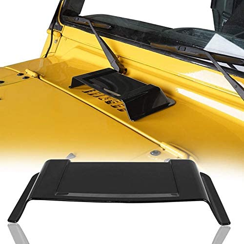 ABS Car Cowl Heater Air Vent Hood Scoop Cover for Jeep Wrangler TJ JK 98-18 US