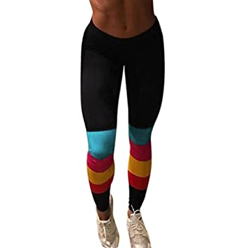 Alta cintura estirada Mujeres Deportes Yoga Pantalones Gimnasio Ropa unidad Leggings  Para Mujer Deportes Fitness Correr Compresión Pantalones Negro Simon ... 79240dc1cf7e