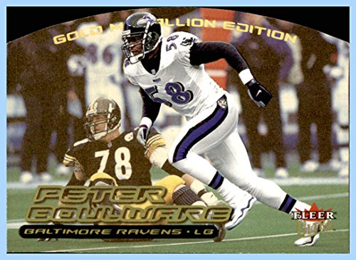 2000 Ultra Gold Medallion #206 Peter Boulware BALTIMORE RAVENS FSU FLORIDA STATE SEMINOLES ()
