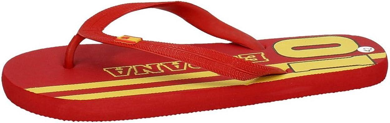 ZAPATOP F01P1-A Chanclas Spain Rojas Hombre Sandalias Rojo 43: Amazon.es: Zapatos y complementos