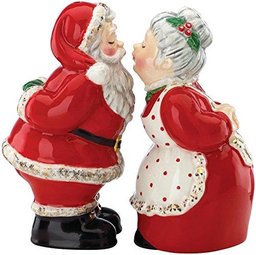 Gorham Once Upon a Christmas Santa Salt & Pepper Set
