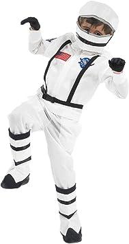 Fun Shack Blanco Astronauta Disfraz para Niños - M: Amazon.es ...
