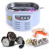40KHz 600ML Smart Ultrasonic Cleaner for Jewelry Glasses Circuit Boards Ornament Toothbrush Circuit
