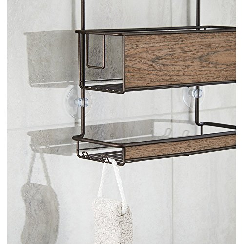 Interdesign 90777eu realwood organizador de cub culo de for Organizador para ducha