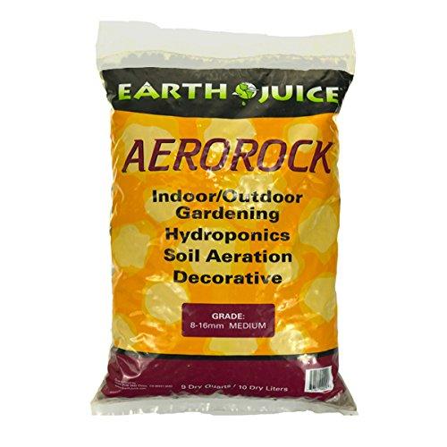 Hydro-Organics,HOH4025,Aerorock Hydroponic Growing Medium,10 Liter Bag,Brown