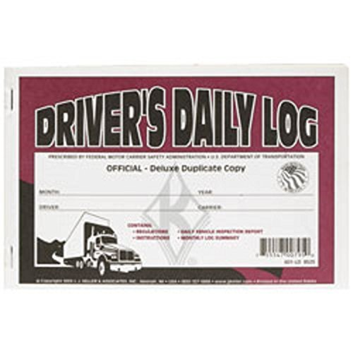 (J.J. Keller - Deluxe Driver's Daily Log Book with Detailed DVIR, 100 Books)