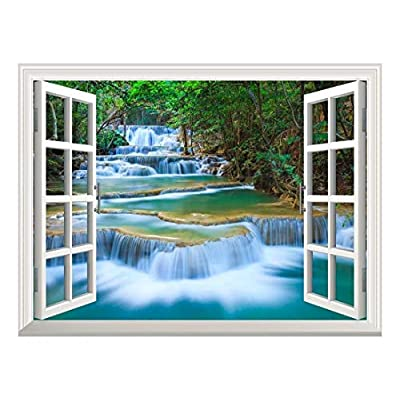 Removable Wall Sticker Wall Mural Beautiful Landscape of...