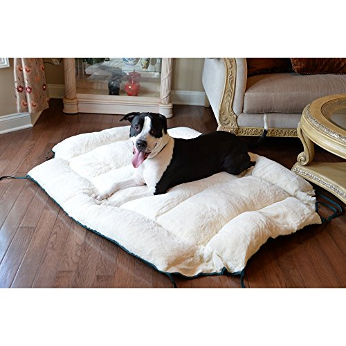 armarkat-pet-bed-64-inch-by-50-inch-d04hml-mb-xtra-large-green-ivory