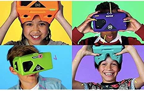 Soft For Android iOS Adjustable-Lens Purple Foam Ages10 MERGE AR//VR Headset