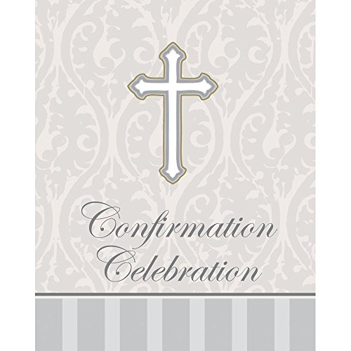Creative Converting 48-Count Devotion Cross Confirmation ...