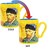 Did fellow painter Paul Gauguin cut off Vincent's ear with a sword? We may never know. In any event, the DisappEARing Van Gogh Mug features a classic self-portrait of Van Gogh, and when you pour in a hot beverage Vincent's ear magically vanishes befo...
