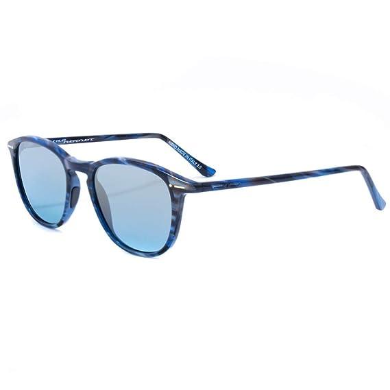 italia independent 0701-BTG-021 Gafas de sol, Azul, 50 para ...