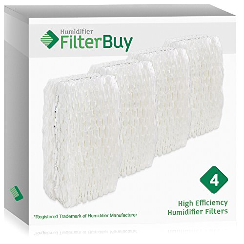 - FilterBuy Replacement Humidifier Wick Filters Compatible with WF813 ReliOn, AC-813 Duracraft, ACR-832 Robitussin. Pack of 4.