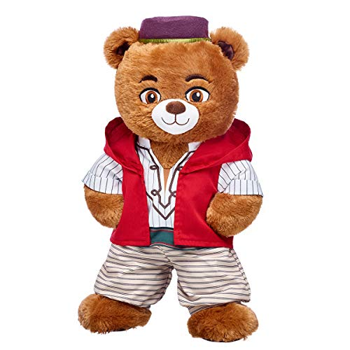 Build A Bear Workshop Online Exclusive Disney Aladdin Inspired Bear Gift Set, 16 inches from Build A Bear